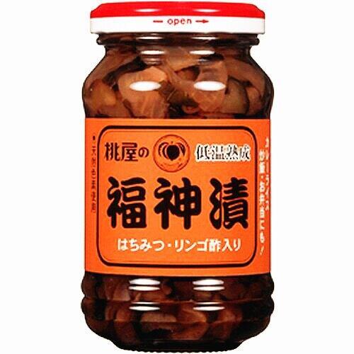 【江戶物語】桃屋 福神漬 145g 玻璃罐裝 添加蜂蜜、蘋果醋 桃屋福神漬 配飯 涼拌 野菜醃漬罐 拜拜 日本原裝進口