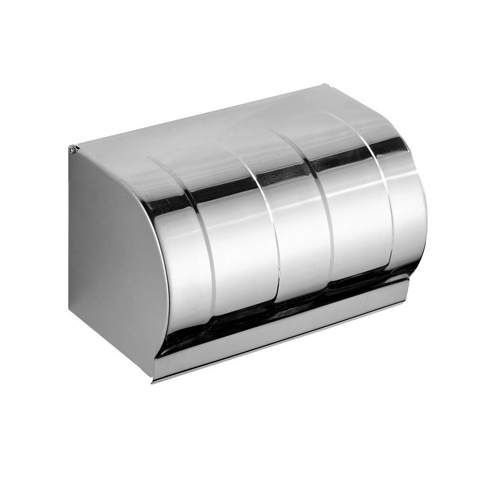 紙巾盒 衛生間紙巾盒廁所廁紙盒免打孔卷紙抽紙衛生紙盒置物架防水壁掛式