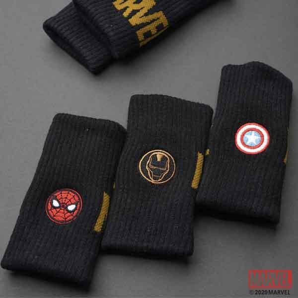 MARVEL漫威運動配件 英雄設計 長版護腕 運動用品 [M20400201]