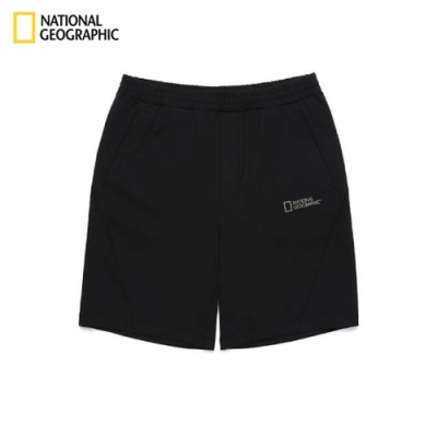 NATIONAL GEOGRAPHIC 國家地理 男  SHORTS 短褲 碳黑-N192MHP250198