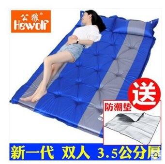 野餐戶外防潮墊超輕自動充氣墊子雙人加寬帳篷睡墊 NMS 黛尼時尚精品