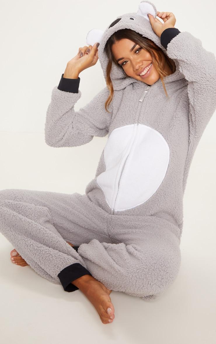 Koala Bear Grey Onesie