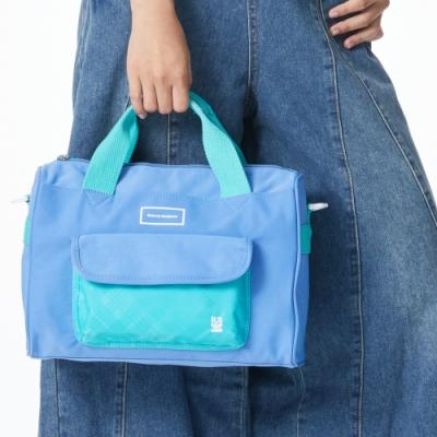 【金安德森】PLAY 造型2way手提包-藍色