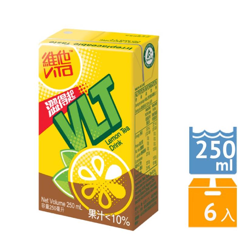 [維他奶] 維他奶系列飲品 (250ml*6) 凍檸茶