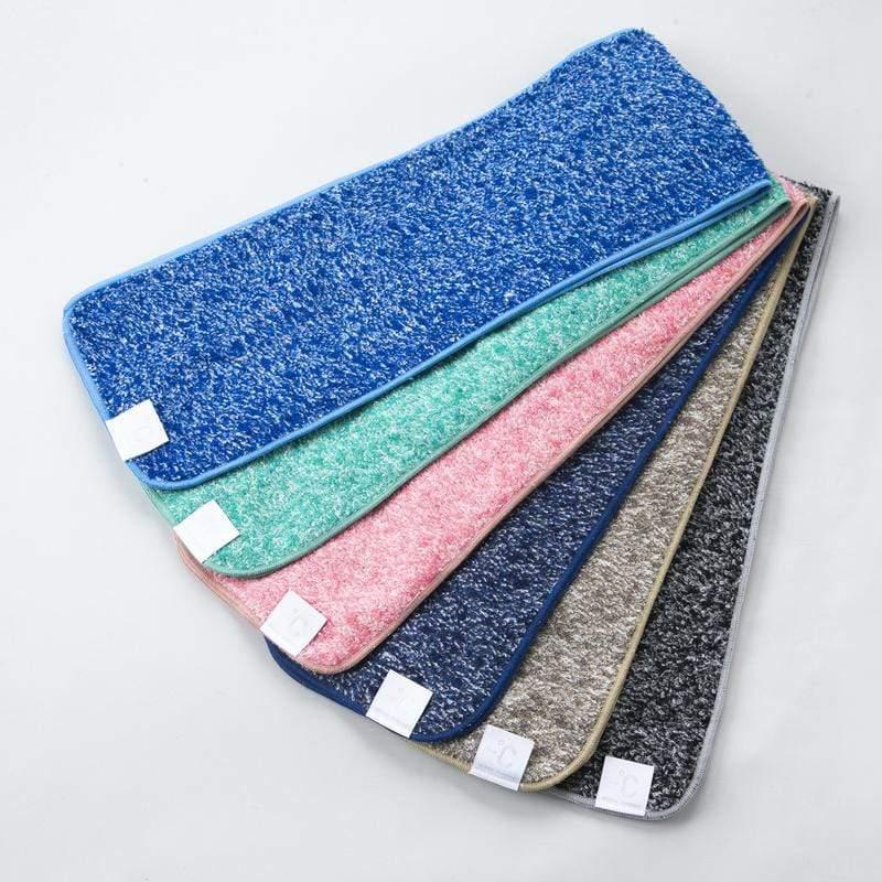 降溫涼感運動毛巾-混色毛 海軍藍