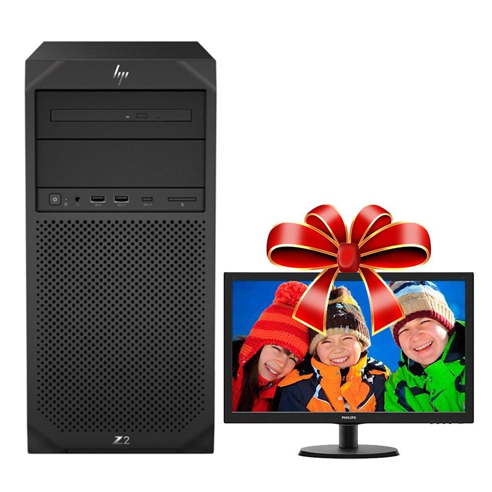【期間限定】HP C246 八核商用工作站(i9-9900/16G/512G SSD+2TB/P4000 8G/WIN10專業版/650W/三年保固)