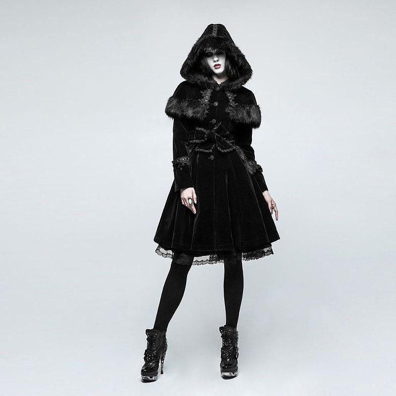蘿莉塔薩滿巫帽毛絨外套 / 即將絕版