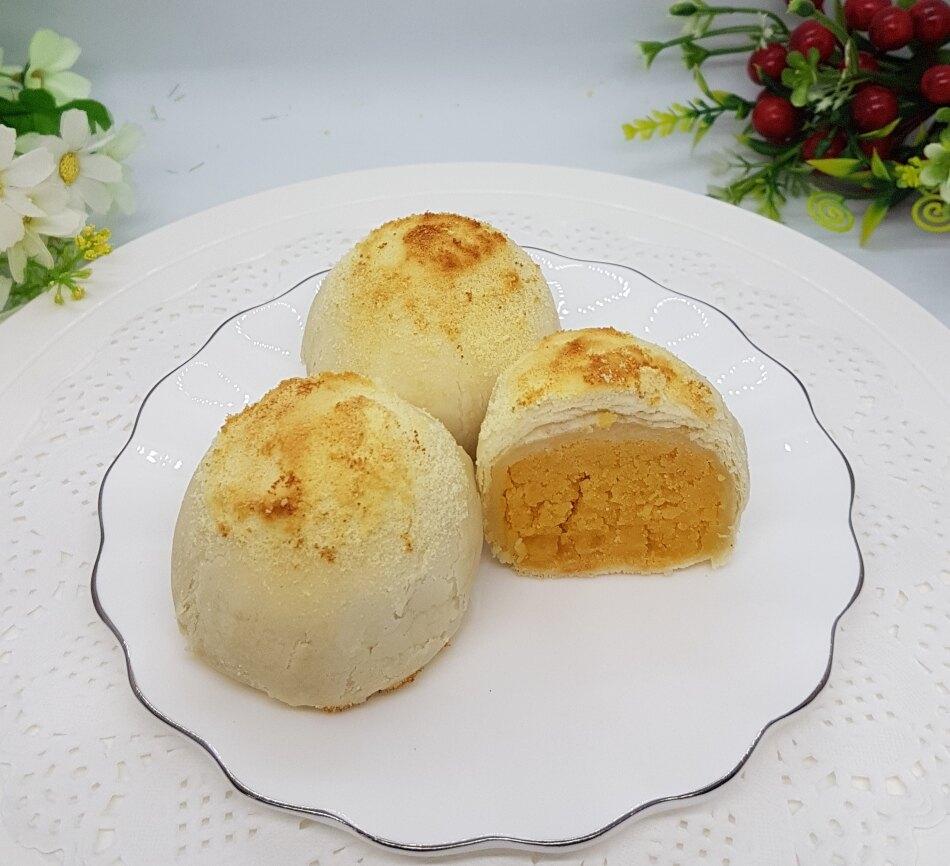 年節食品  珍愛月娘酥 6入盒裝  輕鬆吃