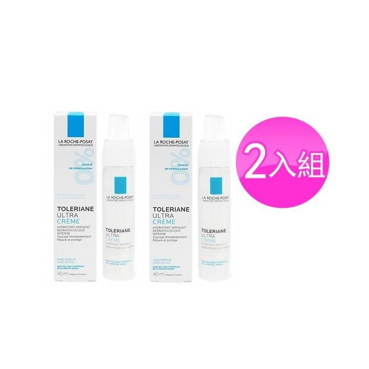 La Roche-Posay理膚寶水 多容安極效舒緩修護精華乳40mlX2入組(潤澤型)