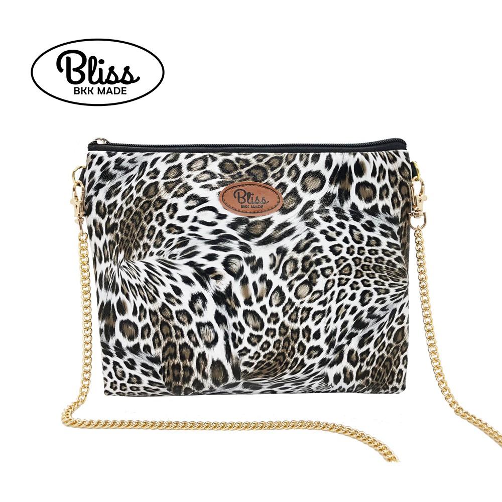 泰國 Bliss BKK包 經典豹紋 可肩背 可手拿 泰國必買 現貨供應中