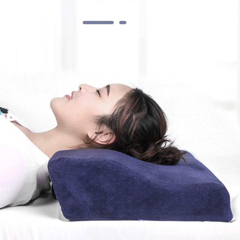 【蝶形記憶枕】3D 舒壓 透氣 蝶型枕 記憶枕 天鵝絨 止鼾枕 枕頭 好睡眠