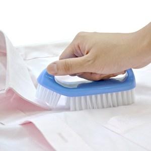 日本AISEN襯衫專用軟硬刷毛洗衣刷(2入裝)