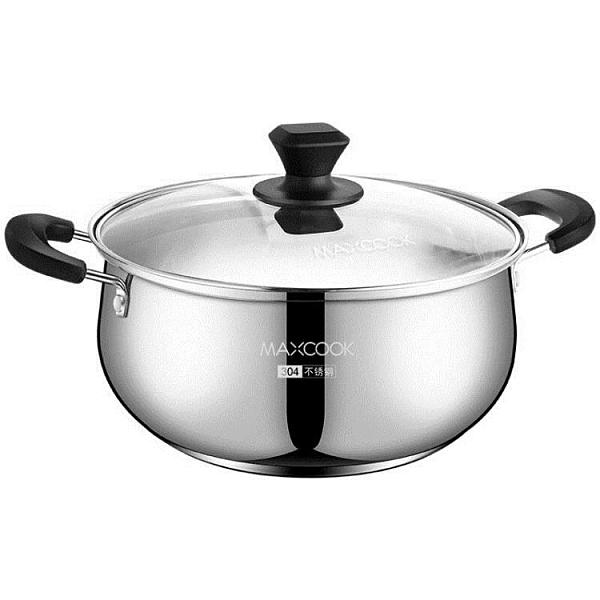美廚湯鍋304不銹鋼加厚家用小奶鍋煮粥鍋煮鍋鍋具燃氣電磁爐燉鍋 童趣潮品
