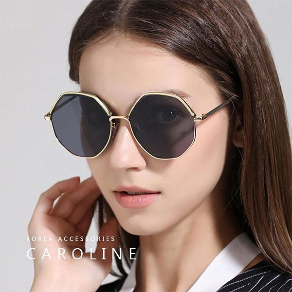 《Caroline》韓系質感熱門款網紅潮流太陽眼鏡72341