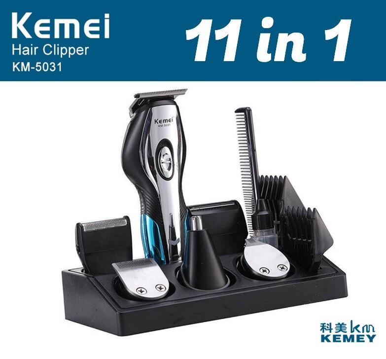 現貨免運 科美 kemei 11合一 送禮首選 理髮 器 電剪 刮鬍刀 剃頭