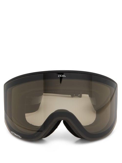 Zeal Optics - Beacon Cylindrical-lens Tpu Ski Goggles - Womens - Black