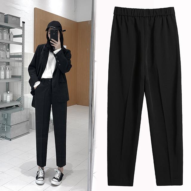 【韓國K.W.】KD2205 美型英倫風典雅西裝褲
