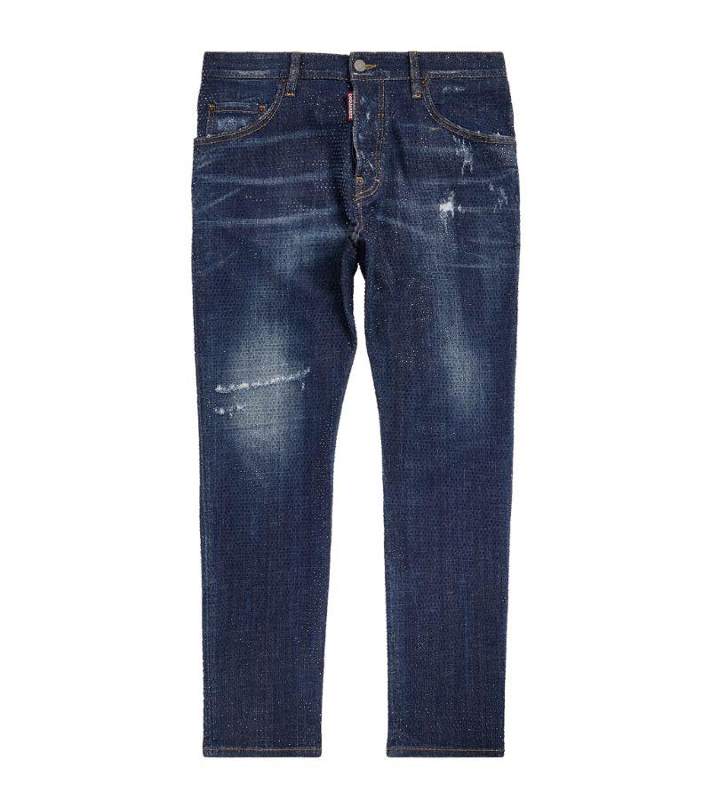 Dsquared2 Embellished Slim Skater Jeans