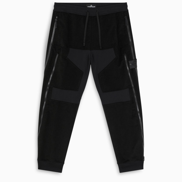 Stone Island Shadow Project Black jogging trousers