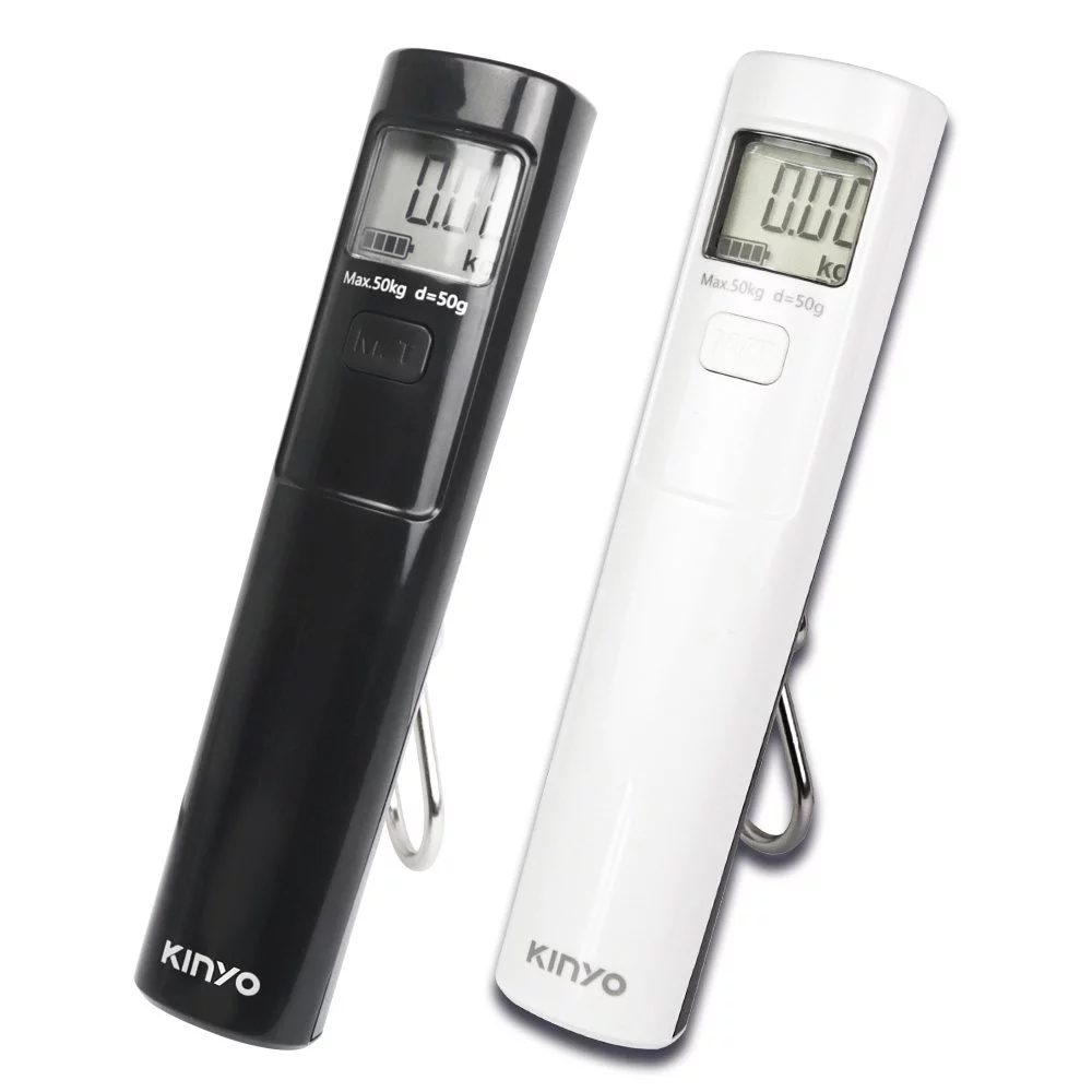 【KINYO】環保免電池行李秤 DS-012