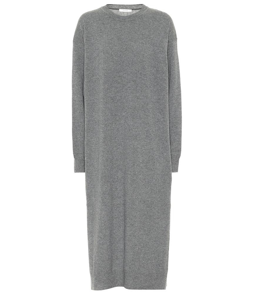 Anibale cashmere midi dress