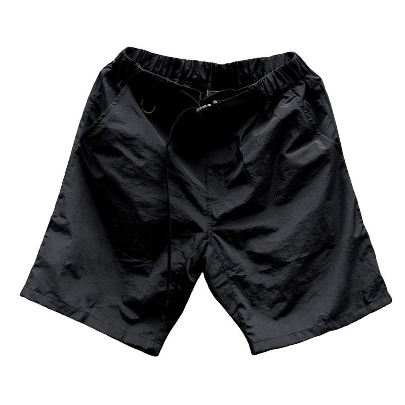IDEALISM - ID20018 NYLON SHORTS 尼龍口袋 短褲 (黑色) 化學原宿