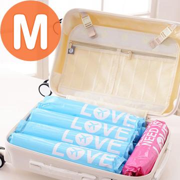 【韓版】NACAI旅行手捲壓縮袋M號 2入裝(40x60cm)-2套組