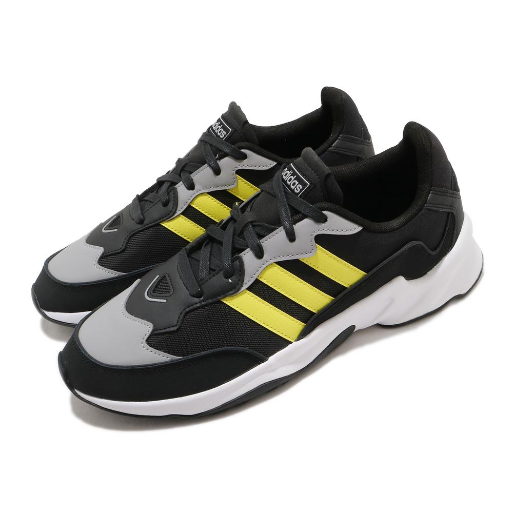 ADIDAS 慢跑鞋 20-20 FX 運動休閒 男鞋 愛迪達 路跑 緩震 透氣 穿搭推薦 黑 黃 [EH0548]