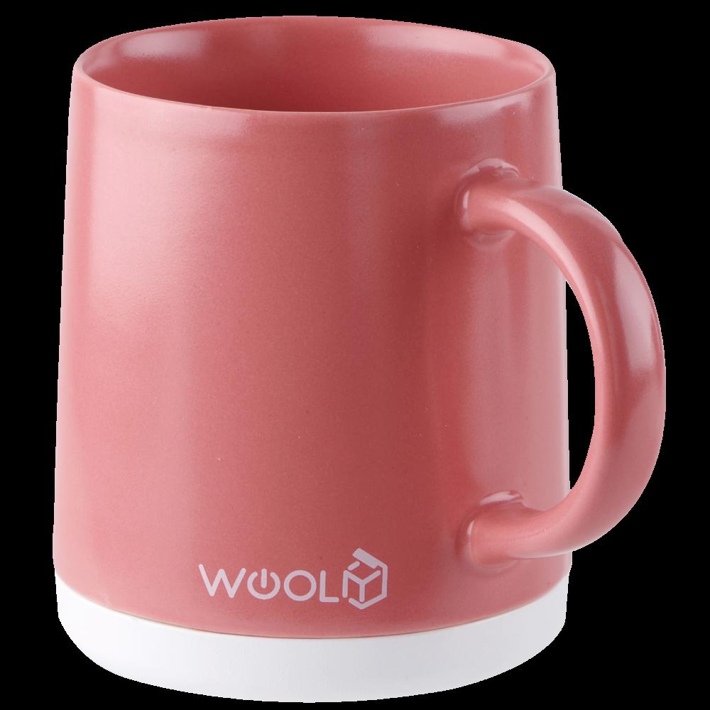 【WOOLY有你】智慧溫控馬克杯(附陶瓷杯蓋) 單人組 380ml