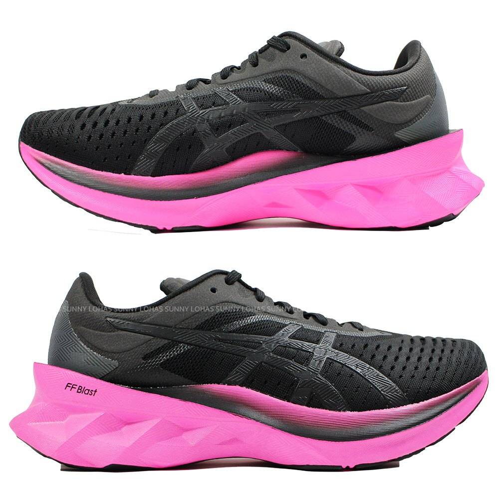 【領券最高折$430】(B9) ASICS 亞瑟士 女鞋 NOVABLAST 彈力型慢跑鞋 1012A584-003【陽光樂活】