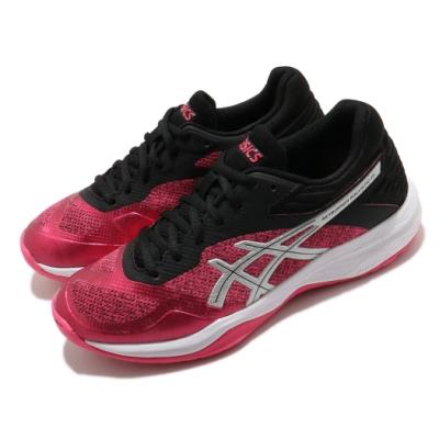 Asics 排球鞋 Netburner Ballistic 女鞋 亞瑟士 FlyteFoam 緩衝 柔軟 粉 黑 1052A002700