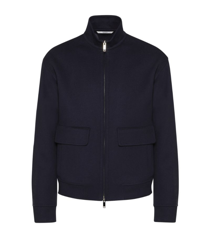 Valentino Wool-Cashmere Jacket