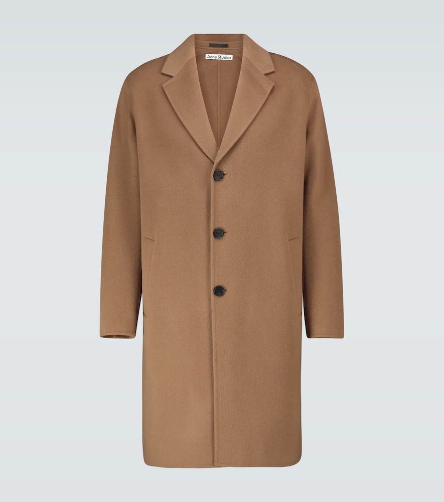 Dali wool twill overcoat