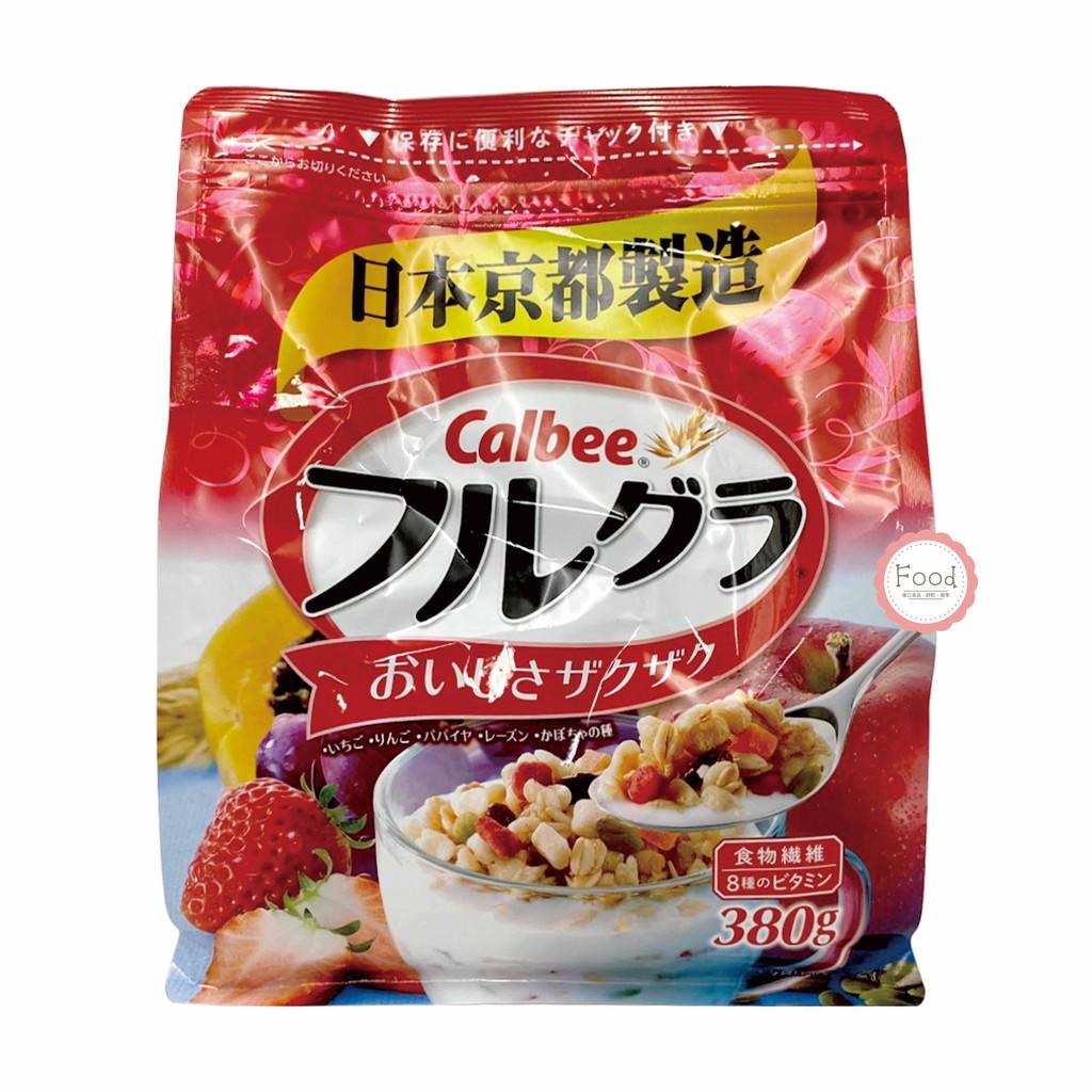 日本 calbee卡樂比 富果樂 水果麥片 380g 早餐 麥片 加樂比