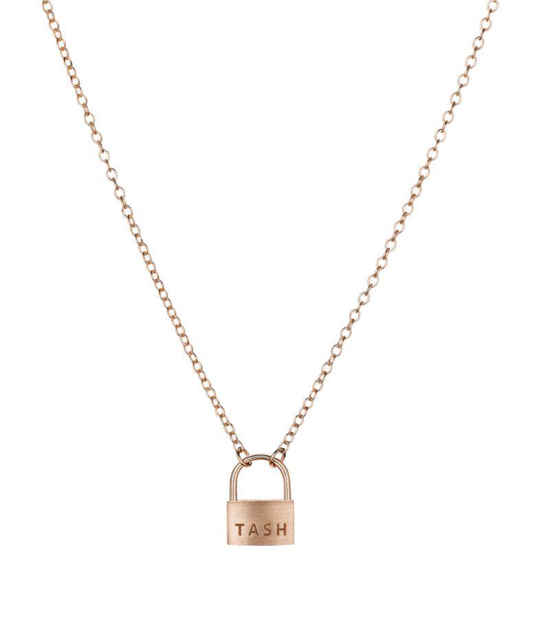 Maria Tash Large Padlock Necklace