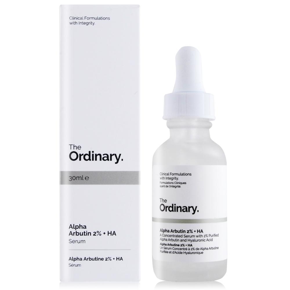 The Ordinary Alpha Arbutin 2% + HA 高濃縮 Alpha 熊果素淨白精華(30ml)