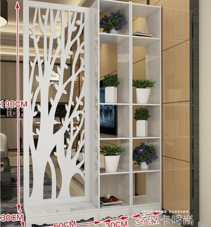 現代簡約時尚屏風隔斷簡易折屏客廳折疊房間臥室行動中式玄關雙面  樂樂百貨