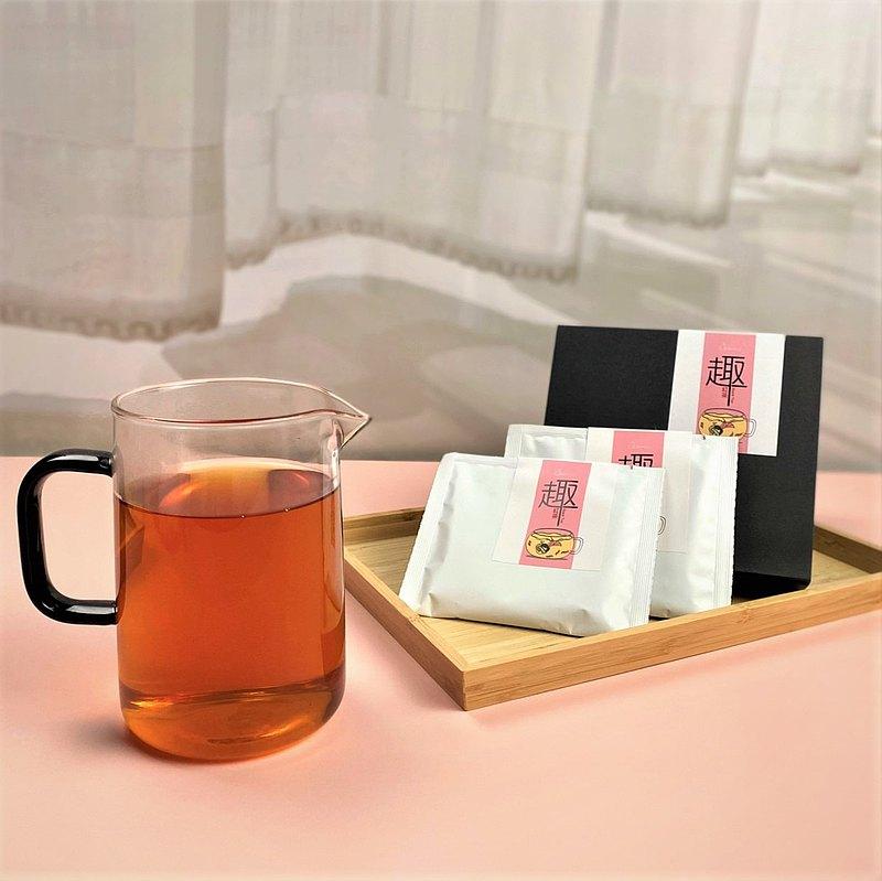 耳掛式趣紅茶包 紅玉+山茶台灣茶