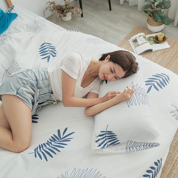 #U127#舒柔超細纖維3.5x6.2尺單人床包被套三件組-台灣製