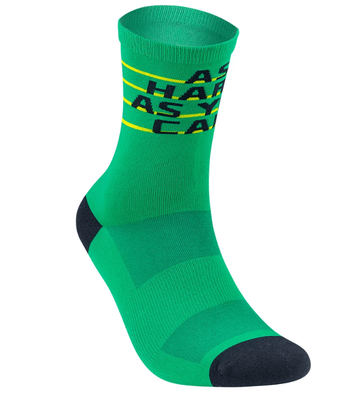 BAISKY運動襪 HERO 綠黃