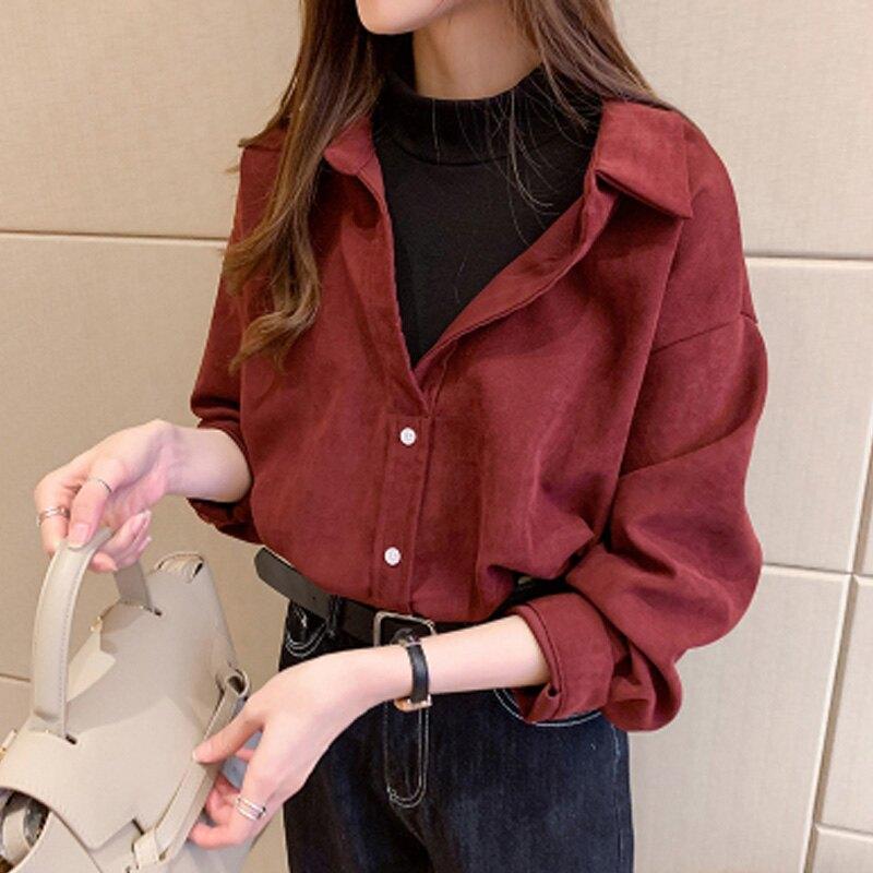 秋季女裝假兩件襯衣學生T恤港味復古設計感小眾上衣長袖打底小衫
