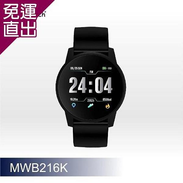 人因科技 ERGOLINK 大錶徑心率智慧監測運動手錶-黑 MWB216K【免運直出】