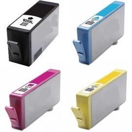 E平台相容墨水匣 920XL CD975AA黑色CD972AA藍色CD973AA紅色CD974AA黃色(NO.920 XL) (單顆任選) 適用HP OfficeJet 6000/6500/6500W