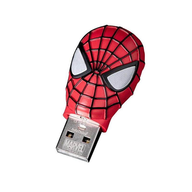 InfoThink 蜘蛛人系列鋅合金造型隨身碟 32GB