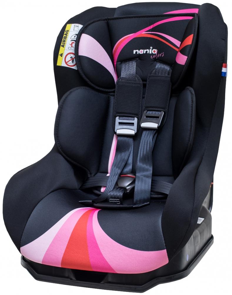 【淘氣寶寶】法國 法國 納尼亞0-4歲安全汽座-彩虹粉 FB00393