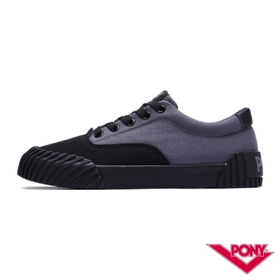 【PONY】SUBWAY2 系列 滑板鞋 男鞋 黑