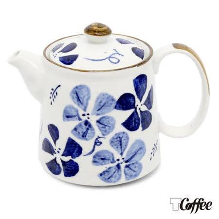 TCoffee MILA-日式手繪咖啡壺 古染花 500ml