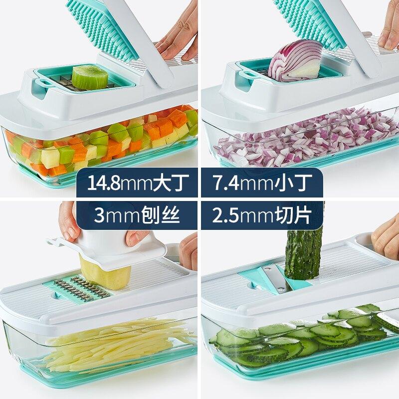 廚房切菜神器土豆絲切絲神器家用擦絲刨絲器【免運】