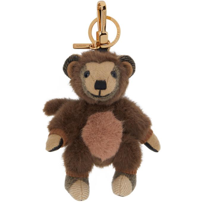 Burberry 驼色 Monkey Costume Thomas 钥匙扣