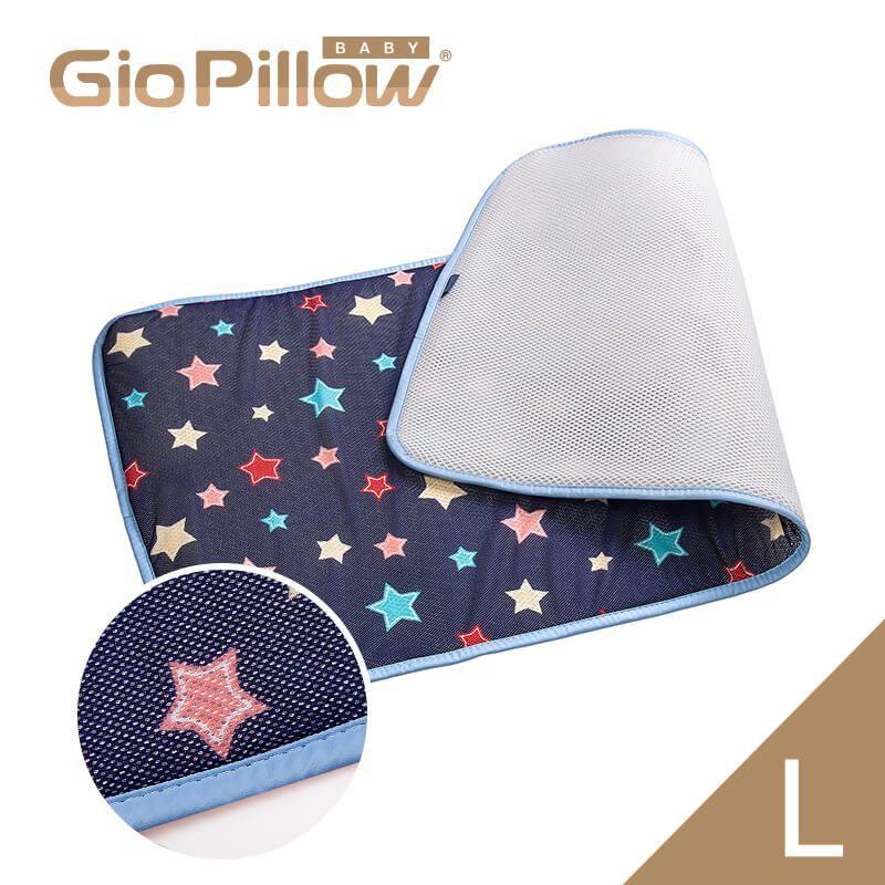 韓國GIO Kid Mat 超透氣排汗嬰兒床墊【L號】夜晚星星【衛立兒生活館】